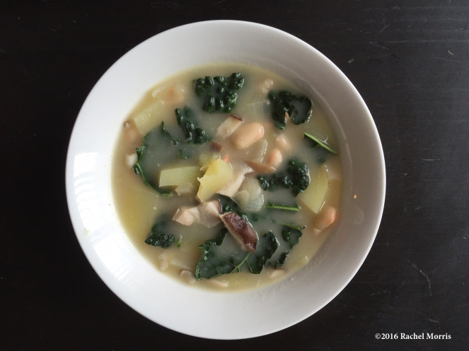 white bean potato soup